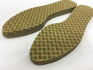 抗菌タイプの靴の中敷き
