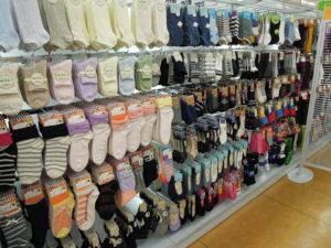 靴下の素材や形に注意して選ぶ