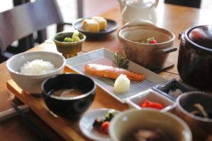 さっぱりした和食で食生活を改善
