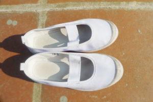 学校で使用する上履き