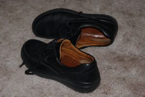 父の臭い革靴